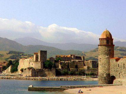 Photo de Collioure, ville peinte par Sciortino