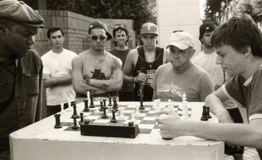 Partie d'échecs à Portland
