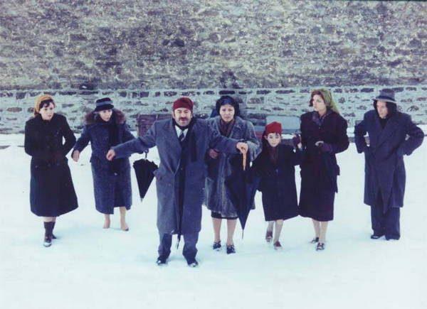 Image du film Le voyage des comédiens de Theo Angelopoulos