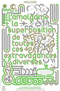 Affiche réalisée pour le mot Amalgame