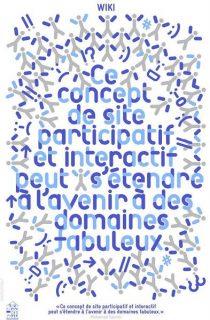Affiche pour le mot wiki