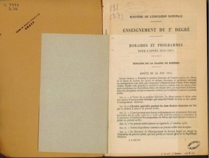 Photo du document