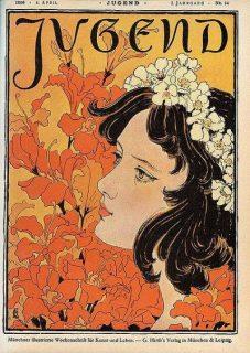 Revue allemande Jugend, n°14, 1886