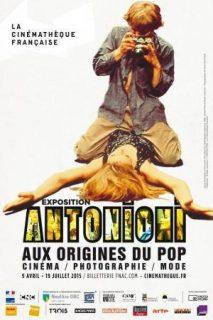 Affiche de l'exposition Antonioni, aux origines du pop
