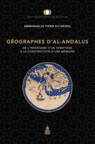 couverture livre Géographes d'Al-Andalus