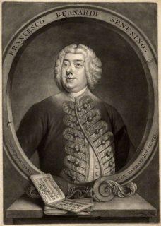 Portait du Senesino (Francesco Bernardi), castrat vedette de G. F. Haendel et créateur du rôle d'Orlando