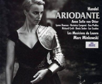 Album de l'Ariodante de Haendel avec Anne Sofie von Otter, 1997