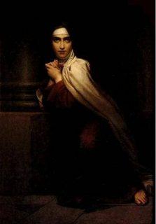 Sainte Thérèse, peinture de François Gérard datant de 1827 et conservée à l'Infirmerie Marie-Thérèse à Paris