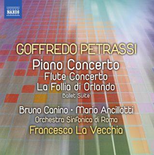 Concerto pour piano , Concerto pour flûte , Follia di Orlando (La); Petrassi, Petrassi, Petrassi