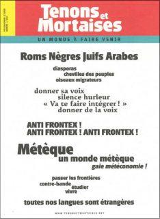 couverture de la revue Tenons et Mortaises