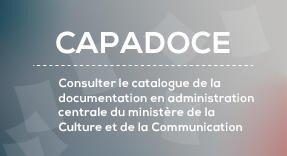catalogue de la documentation centrale du Ministère de la Culture
