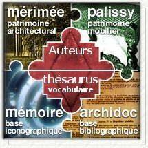 Base de donnée de l'inventaire du patrimoine français