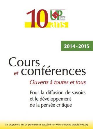 L'Université populaire des Hauts-de-Seine