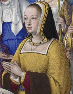 Portrait d'Anne de Bretagne par Bourdichon