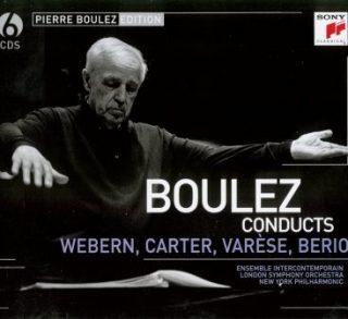 Boulez conducts Webern, Carter, Varese, Berio