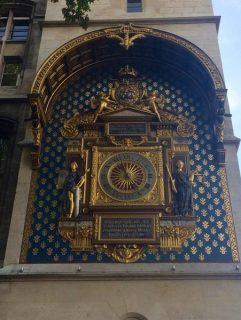 Horloge de la Conciergerie à Paris