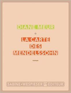 La Carte des Mendelssohn - détail