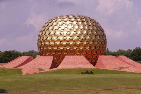 Le Matrimandir d'Auroville