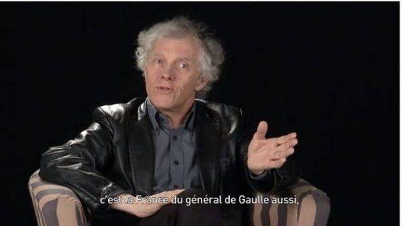 Pascal Ory, image de la vidéo