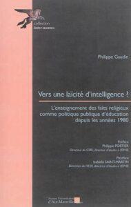Couverture de Vers une laïcité d'intelligence
