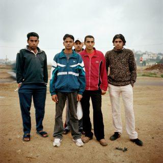 Groupe d'hommes à Melilla