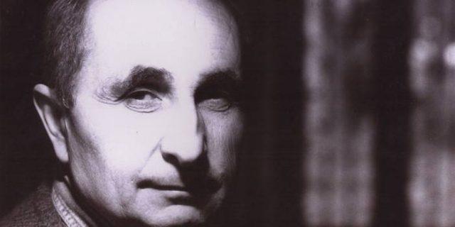 Portrait noir et blanc de Franco Piavoli