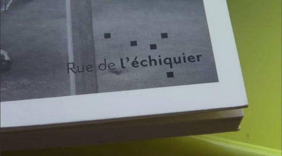 Visuel des Éditions Rue de l'échiquier