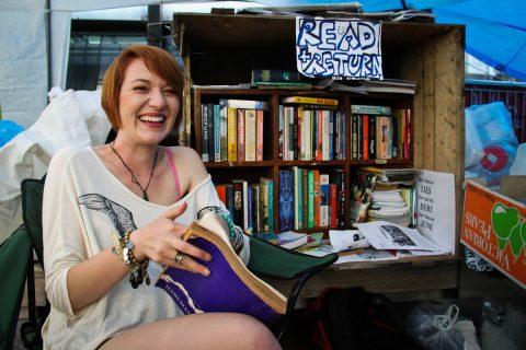 Bibliothèque participative à Auckland, 2011