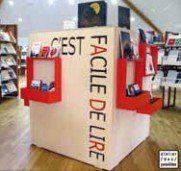 photographie de l'espace Facile de lire,  médiathèque départementale d'Ille -et-Vilaine
