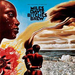 "Pochette du disque ""Bitches Brew"""