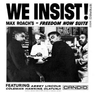 "Pochette du disque ""We Insist!"""