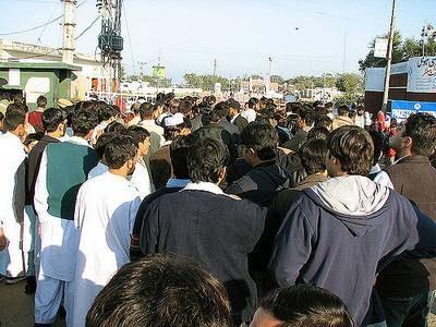 pakistanais à la frontière