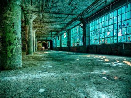 Friche industrielle à Détroit