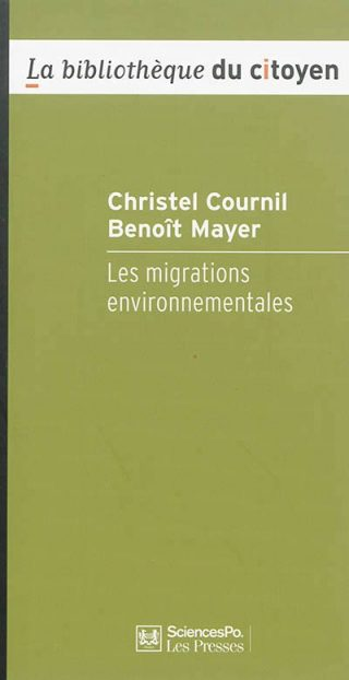 couverture Les migrations environnementales