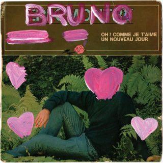 Pochette customisée du EP « Les 400 coups » d'Erik Montry, transformée en déclaration d'amour à un certain Bruno