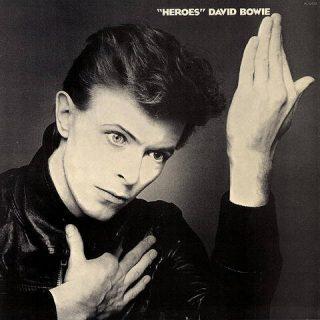 """Pochette du disque """"Heroes"""""""