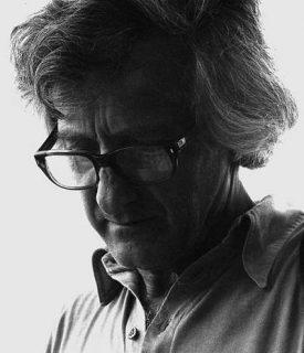 Portrait de Marc Riboud en Noir et Blanc