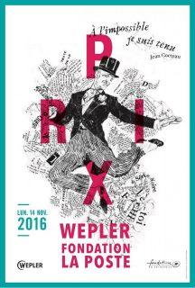 affiche Prix Wepler 2016