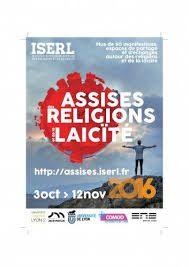 Site de la manifestation Assises des religions et de la laïcité organisées par l'ISERL en novembre 2016