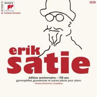Pochette du CD Erik Satie édition anniversaire 150 ans