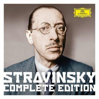 Pochette du coffret Stravinsky complete edition