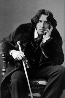 Portrait photographique d'Oscar Wilde