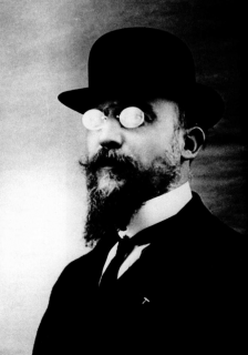 Portrait d'Erik Satie
