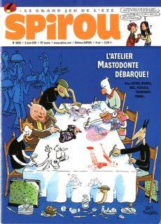 couverture du numéro de Spirou