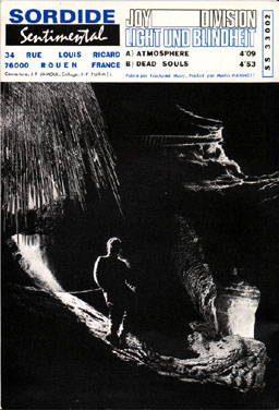 "Couverture originale du single ""Atmosphere"", Sordide Sentimental"