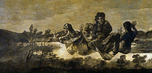 Les trois Parques de Goya, Prado de Madrid