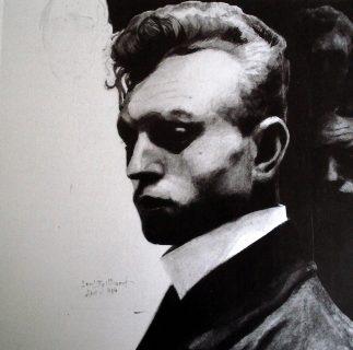 Autoportrait de Léon Spilliaert (1903)