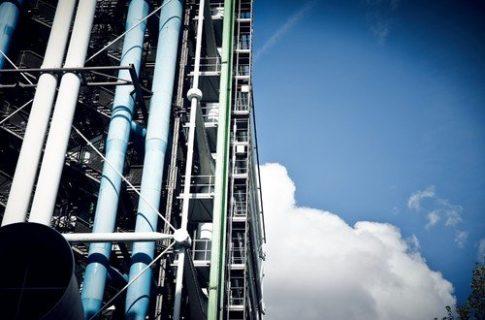 photographie du Centre Pompidou