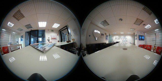 vue avant traitement en 360°