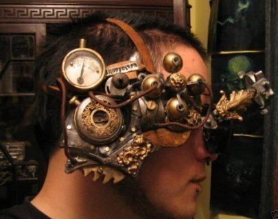 Photo de lunettes steampunk